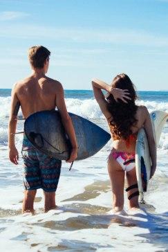 Lakshmi&Tanner Surfers Point